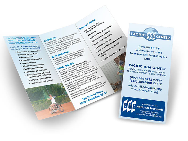 Pacific ADA Center Brochure