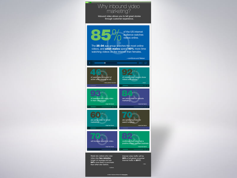 Intro to Video Marketing Infographic