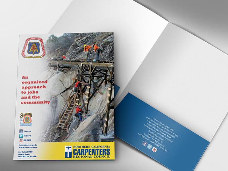 Carpenters Union Presentation Folder
